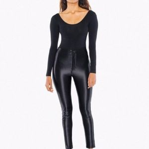 American apparel Disco Pant in black
